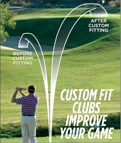 Ad for golf clubs makes a big promise