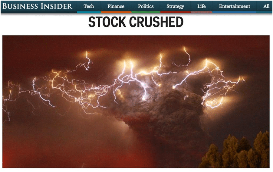 Stocks Crushed