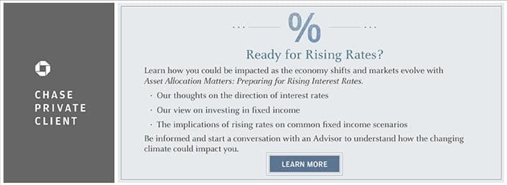 Chase Rising Interest Rates