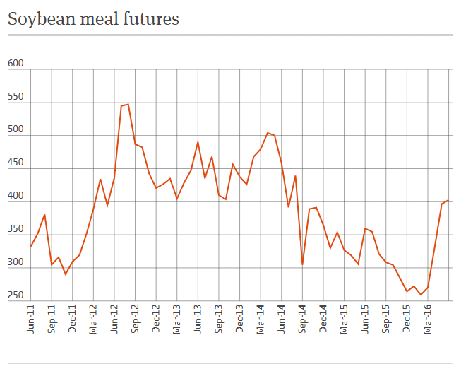 Soybean Meal Futures